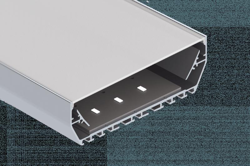 Artikelbild des Profilsystems Multi PowerLine 116 Smooth