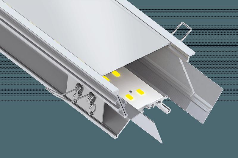 Artikelbild des Profilsystems PowerLine 80 Kragen RF